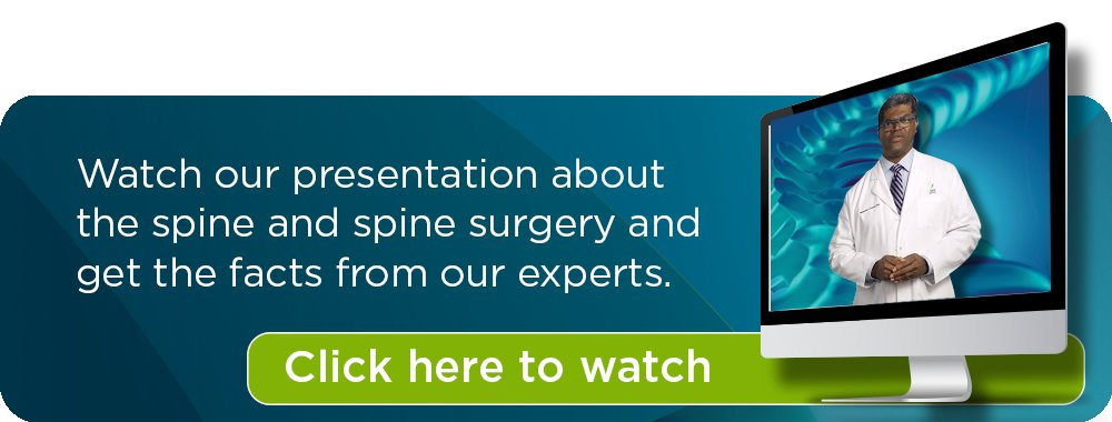 spine surgery webinar