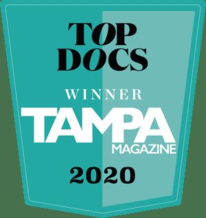 Top Docs Winner tampa Magazine 2020